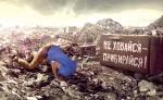 В Украине практически не перерабатывают мусор