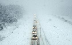 Внимание! Из-за непогоды действуют ограничения движения транспорта в трех областях Украины (по состоянию на 9:00 12.01.17)
