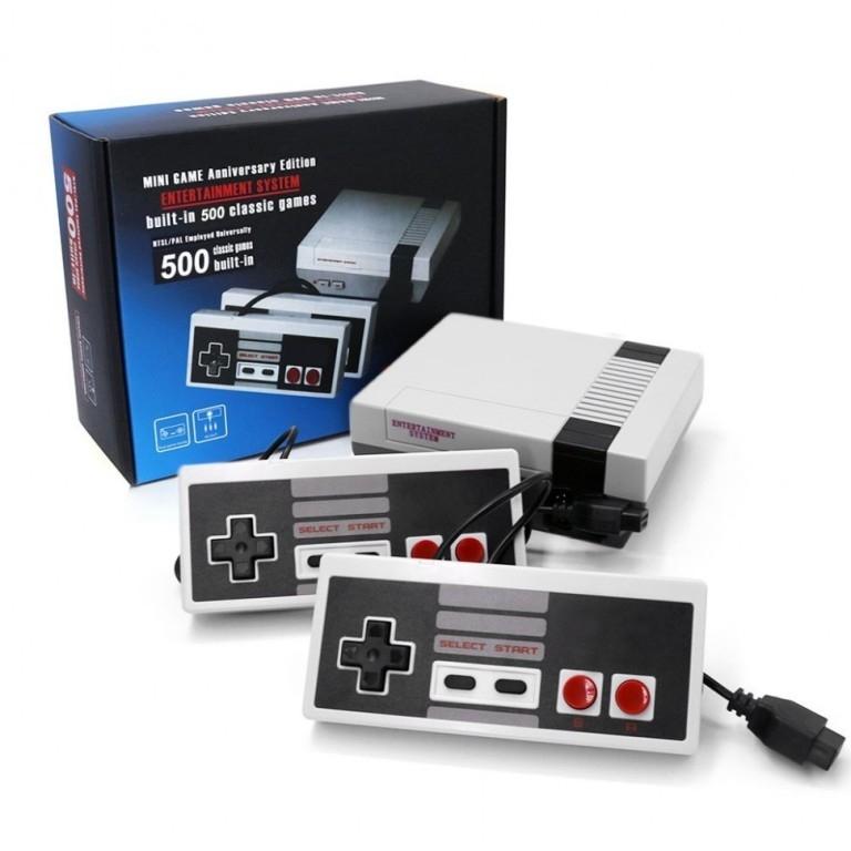 Приставка Mini Game Anniversary Edition 500 игр (аналог Nintendo)