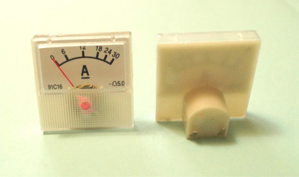 Амперметр 30 А стрелочный для измерения силы тока
