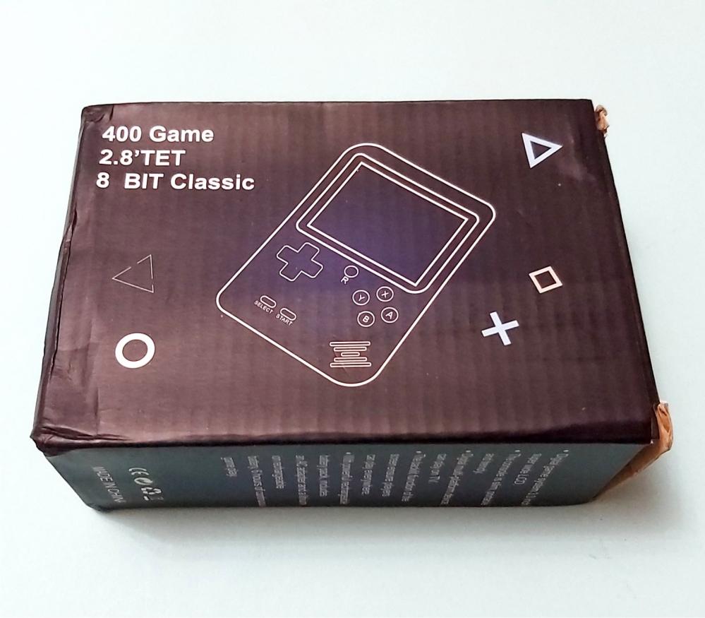 Игровая приставка 400 в 1,  карманная игровая консоль