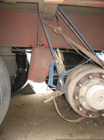 Рихтовка рам полуприцепов и грузовых автомобилей