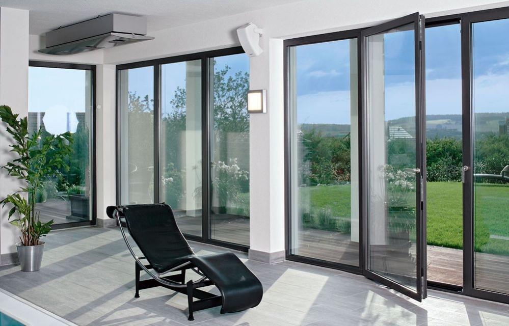 Алюминиевые окна,   двери,   перегородки.