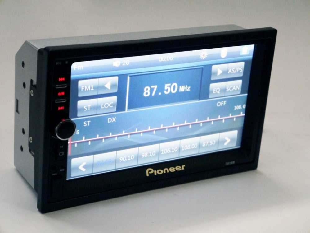 2din Магнитола Pioneer 7018 USB,   SD,   Блютуз,   ПУЛЬТ НА РУЛЬ,   ко