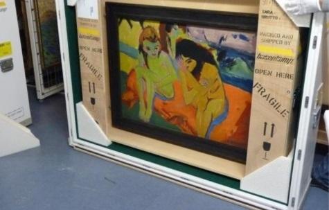 Доставка Пересылка Вашей картины в Израиль из Украины.