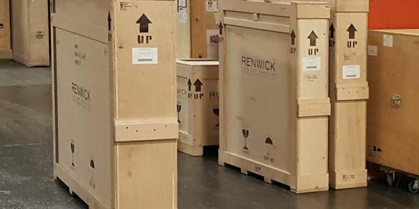 Индивидуальная упаковка для доставки произведений искусства за границу