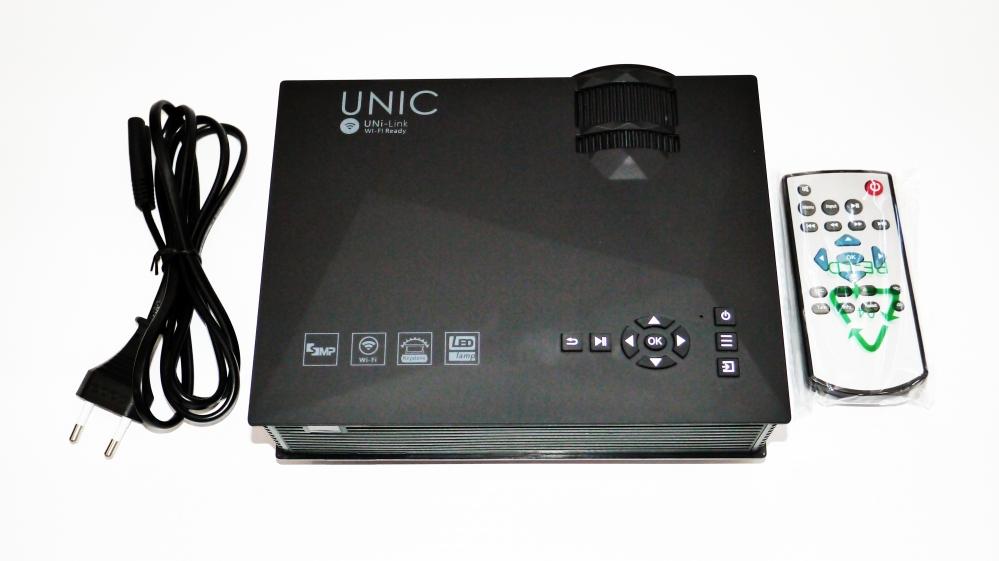 Мультимедийный проектор Unic UC46 Wi-Fi