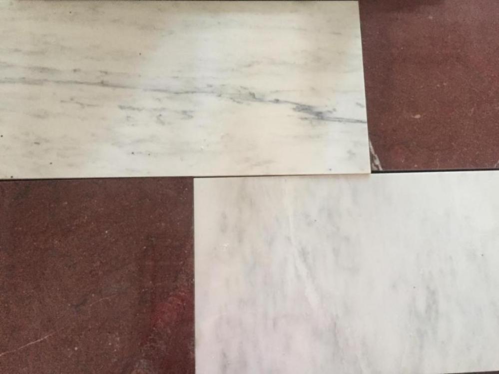 Натуральная мраморная  плитка широко применяется для отделки