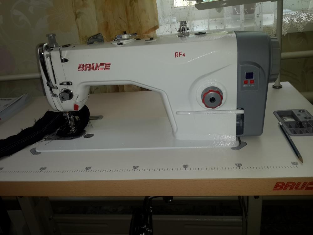Швейная машина Брюс Bruce RF4h.  Стежок до 5 мм.