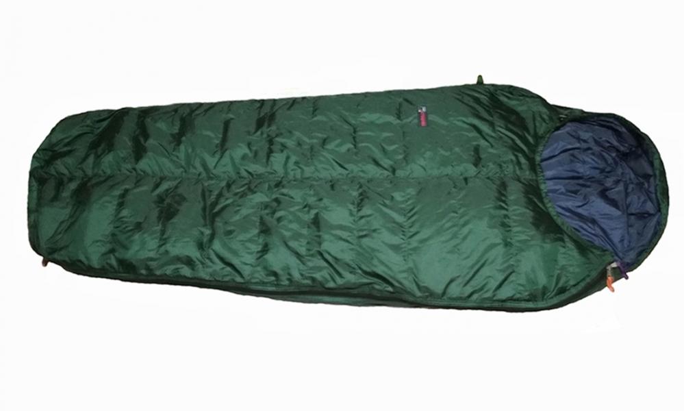 Пуховый спальный мешок на рост до 210 см.        Экстрим вариант.